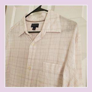 Banana Republic Linen Striped Shirt